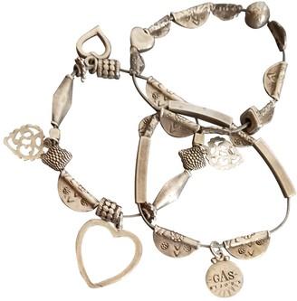 Gas Jeans Love Silver Steel Bracelets