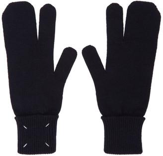 Maison Margiela Navy Tabi Gloves