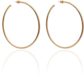 Jennifer Fisher Classic 14K Rose Gold-Plated Hoop Earrings