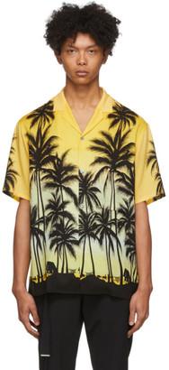 Wooyoungmi Yellow Palm Tree Shirt