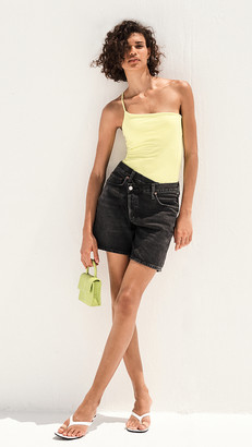 AGOLDE Crisscross Upsized Shorts