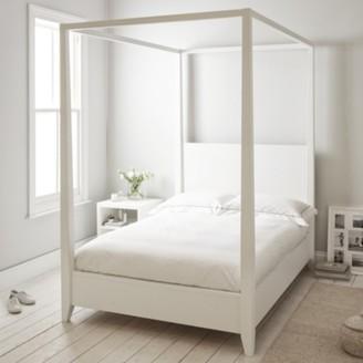 The White Company Pimlico Bed, White, Double