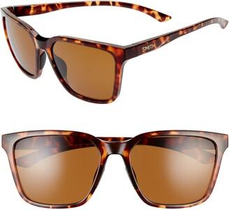 Smith Shoutout 57mm ChromaPop(TM) Polarized Square Sunglasses