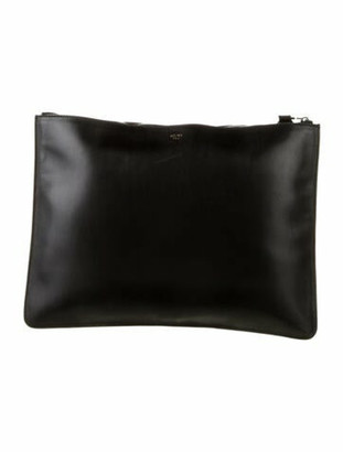 Celine Side-Lock Pouch Black