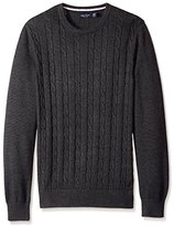 Nautica Men's Cable Knit Sweater