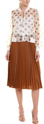 ONEBUYE 3Pc Jacket, Top & Skirt Set