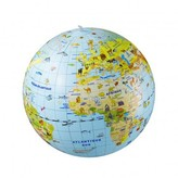Smallable Inflatable Globe 50cm and Animal Quiz game