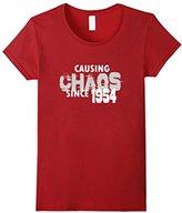 Causing Chaos Since 1954 T-Shirt 63rd Birthday Gift Shirt