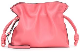 Loewe Flamenco Small leather clutch