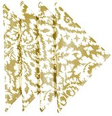 Cloth Napkins 18 Inches Linen Napkins Table Linens Dinner Napkins Gold Damask Set of 4