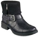 B.O.C. Born Nisida Knit-Collar Combat Boots