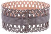 Alaia Laser Cut Studded Waist Belt