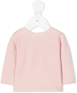 Absorba Embroidered Long-Sleeve Top