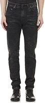 R 13 Men's Skate Skinny Jeans-BLACK