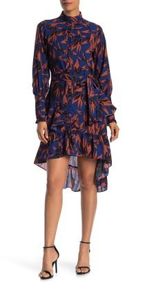 Walter Baker Zoyya High/Low Floral Dress