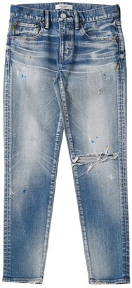 Moussy MV Dixie Distressed Skinny Jeans