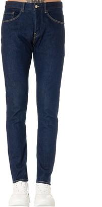 Dondup Dark Blue Cotton Jeans
