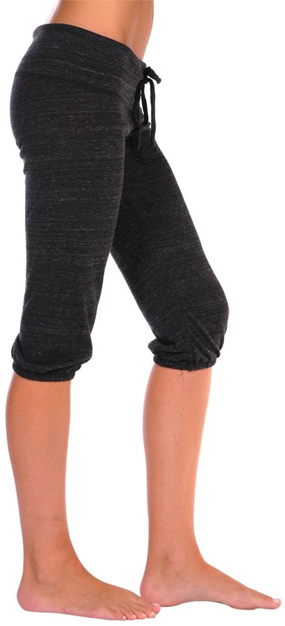Alternative Apparel Eco-Heather Cropped Pants