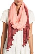 La Fiorentina Women's Tassel Cotton & Silk Scarf