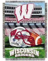 NCAA Wisconsin Badgers Home Field Advantage College Throw