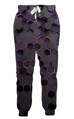LKJDIE Unisex Novelty 3D Graphic Jogger Pants Sport Active Cool Trousers Baggy Casual Sweatpants S-XXL