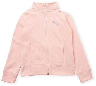 Puma Girls 7-16) Space-Dyed Full-Zip Jacket