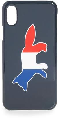 MAISON KITSUNÉ Tricolor Fox iPhone X / XS Case