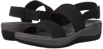 Clarks Arla Jacory (Black Solid) Women's Sandals
