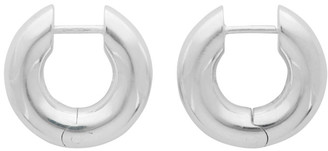 All Blues Silver Polished Almost Earrings