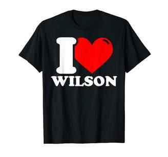 Wilson I Heart I love T-Shirt