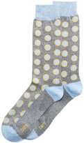 Bar III Men's Seamless Toe Patterned Pop Dot Dress Socks, Created for Macy's