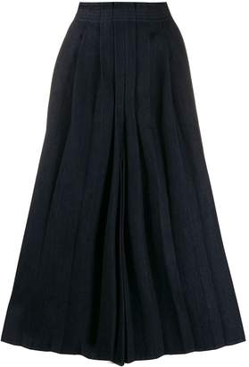 MM6 MAISON MARGIELA pleat front culottes