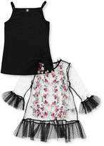 Beautees Big Girls' 2-Piece Top - , 8-10