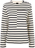 Joseph horizontal striped top