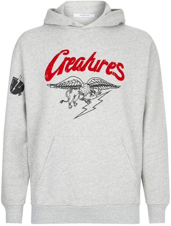 Givenchy Creatures Graphic Hoodie