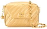 Chanel Pre Owned 1992 diagonal quilt shoulder bag