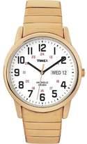 Timex Indiglo T20471 Gold/White Analog Quartz Men's Watch
