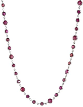 Bayco Burmese Rubies by the Yard Necklace