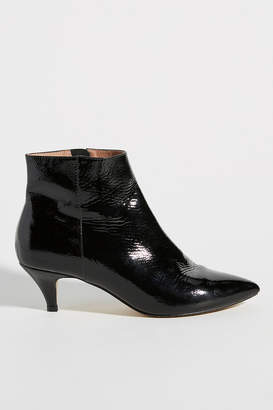 Anthropologie Kitten-Heeled Ankle Boots