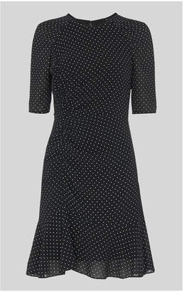 Whistles Billy Spot Silk Dress