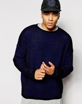 New Look New Look Boxy Fit Jumper In Open Weave