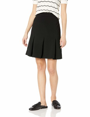 Karl Lagerfeld Paris Women's Black Flare Skirt 14