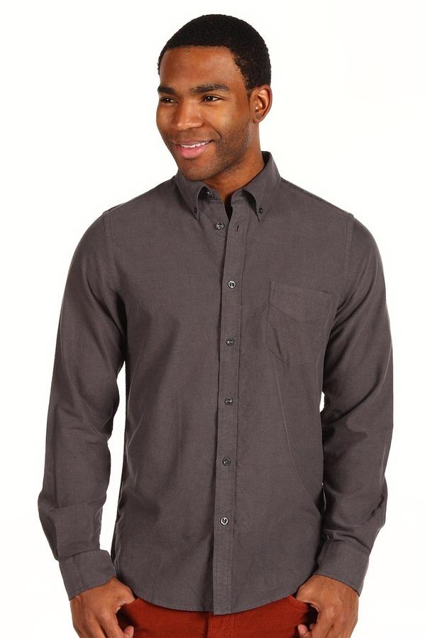 Ben Sherman Laundered Brushed Oxford Shirt (Black) - Apparel