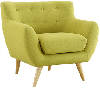 Modway Remark Upholstered Fabric Armchair