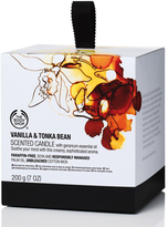 The Body Shop Vanilla & Tonka Bean Scented Candle