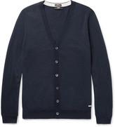 Hugo Boss - Mardon Slim-fit Virgin Wool Cardigan