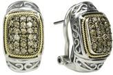 Effy Jewelry Effy 925 Cognac Diamond Earrings, .65 TCW