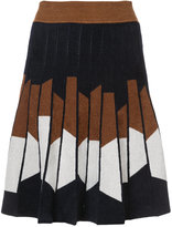 Yigal Azrouel geometric print skirt