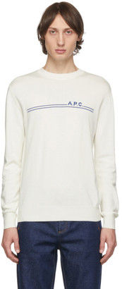 A.P.C. Off-White Eponyme Sweater