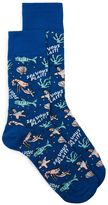 Topman Blue Sea Vous Plait Socks